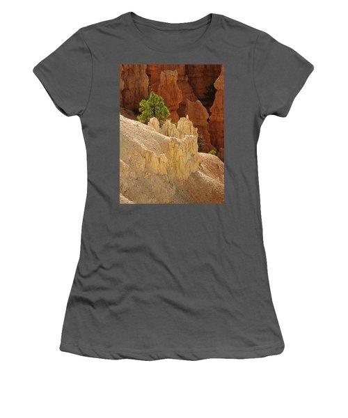 Rocky Embrace Women's T-Shirt (Athletic Fit)