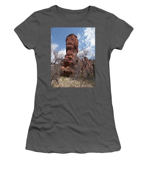 Rocky Totem Women's T-Shirt (Athletic Fit)