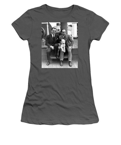 Women's T-Shirt (Junior Cut) featuring the photograph Rodgers And Hart by Granger