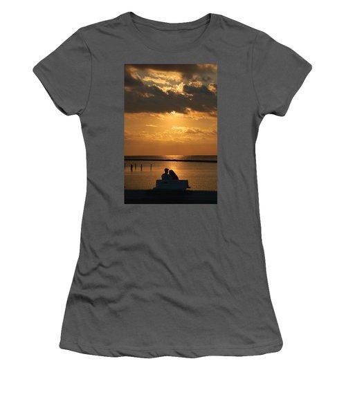 Romantic Sunrise Women's T-Shirt (Athletic Fit)