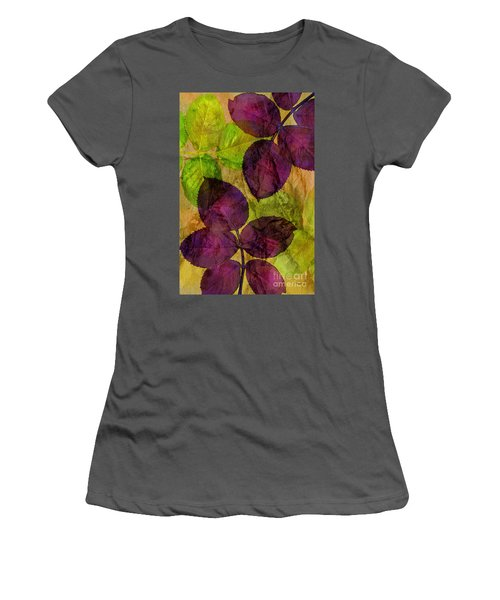 Rose Clippings Mural Wall Women's T-Shirt (Athletic Fit)