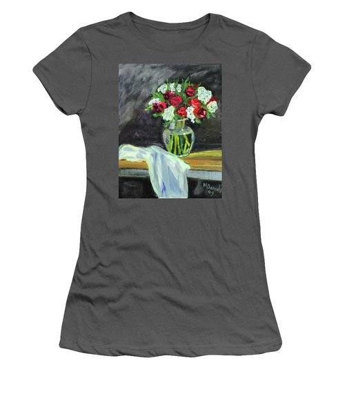 Roses For Mother's Day Women's T-Shirt (Athletic Fit)