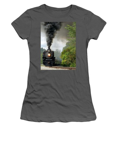 Steamin' In The Valley Women's T-Shirt (Athletic Fit)