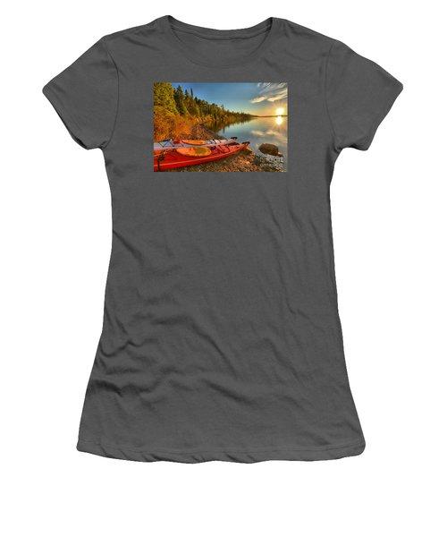 Royale Sunrise Women's T-Shirt (Athletic Fit)