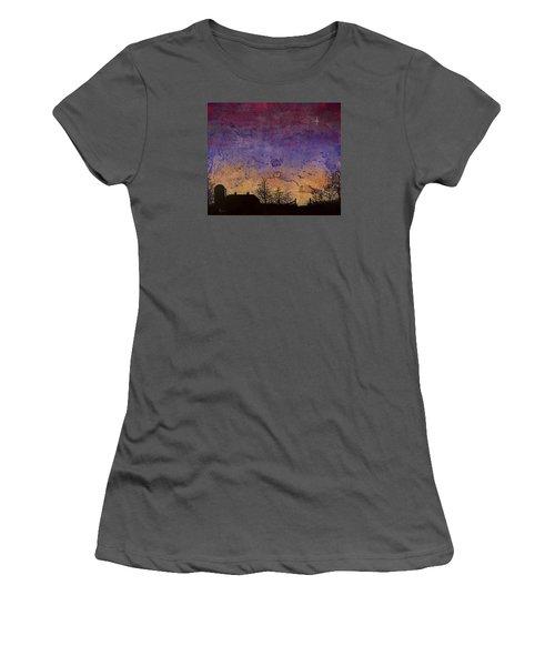 Rural Sunset Women's T-Shirt (Junior Cut) by Jack Malloch