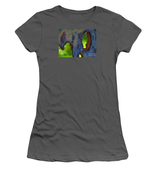 Women's T-Shirt (Junior Cut) featuring the photograph Rust In Peace by Joy Hardee