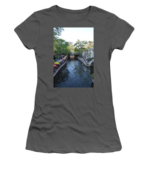 Sa River Walk 2  Women's T-Shirt (Junior Cut) by Shawn Marlow