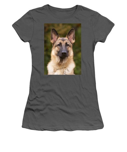 Sable German Shepherd Dog Women's T-Shirt (Athletic Fit)