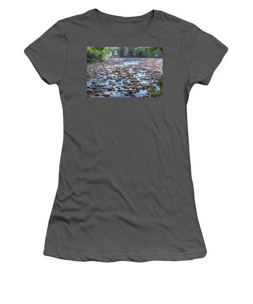 Sacandaga River Women's T-Shirt (Athletic Fit)