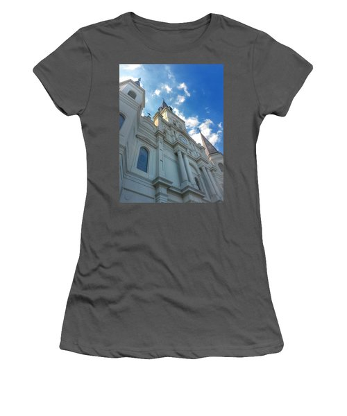 Saint Louis Cathedral  Women's T-Shirt (Athletic Fit)