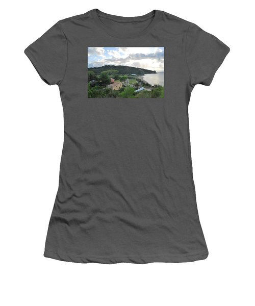Women's T-Shirt (Junior Cut) featuring the photograph Saint Nicholas 1822 by George Katechis