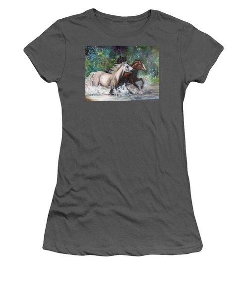 Salt River Horseplay Women's T-Shirt (Athletic Fit)
