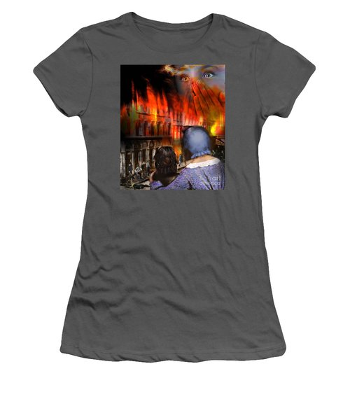 San Francisco Fire Women's T-Shirt (Athletic Fit)