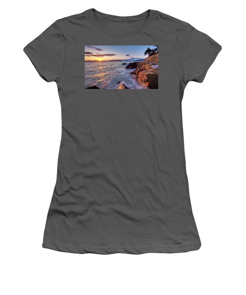 San Juans Serenity Women's T-Shirt (Junior Cut) by Mike Reid