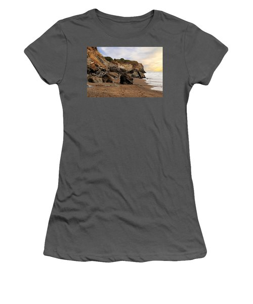 Sand And Rocks Women's T-Shirt (Athletic Fit)