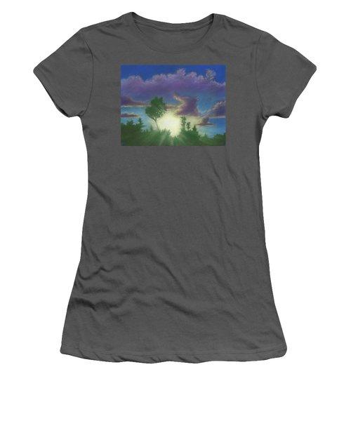 Santee Sunset 02 Women's T-Shirt (Athletic Fit)