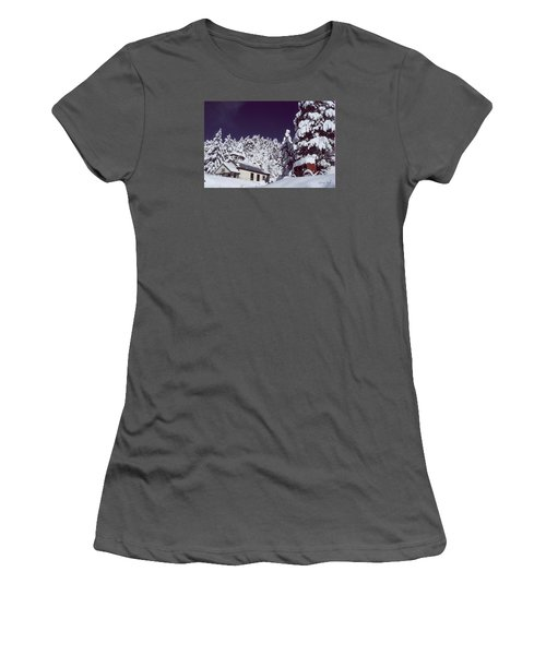 Schoolhouse Women's T-Shirt (Athletic Fit)