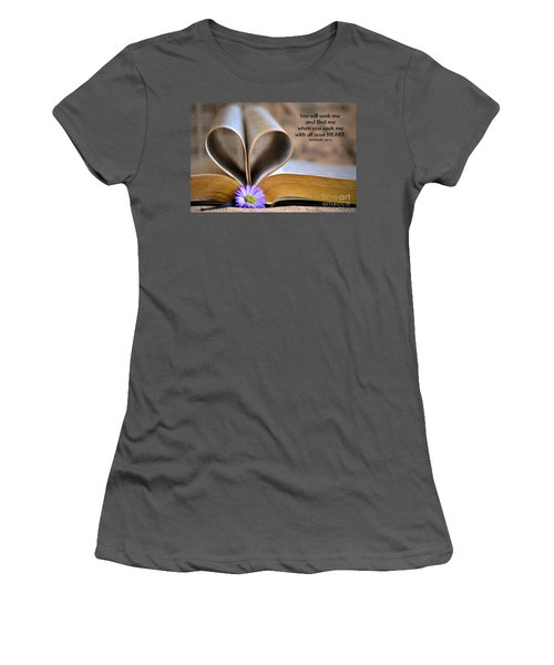 Seeking Women's T-Shirt (Athletic Fit)
