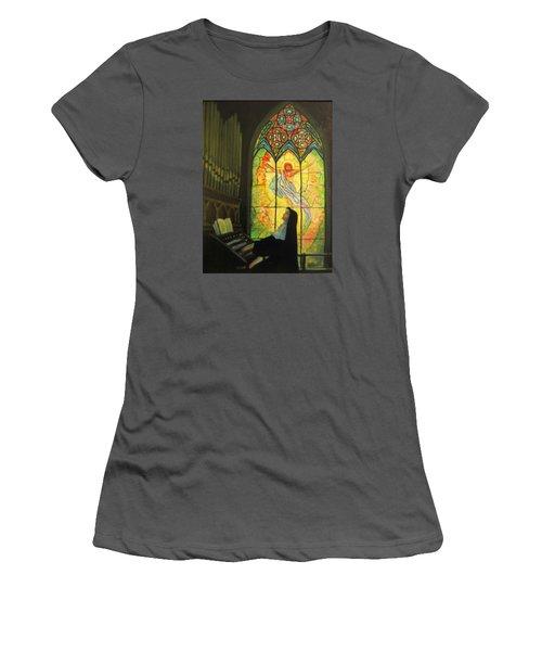 Serenity  Women's T-Shirt (Junior Cut) by Donna Tucker