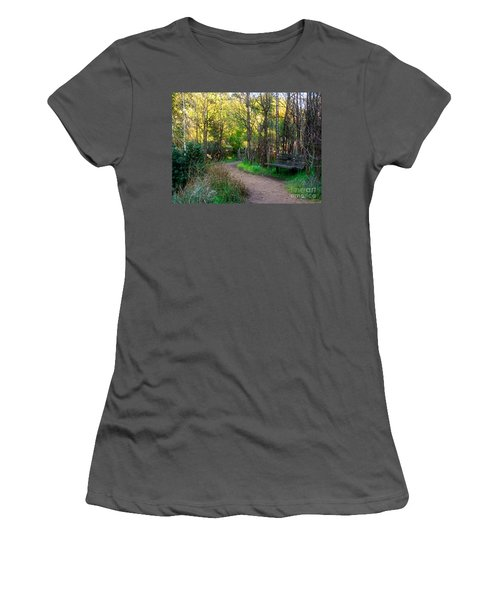 Women's T-Shirt (Junior Cut) featuring the photograph Shady Dell by Kate Brown