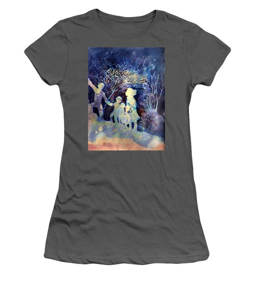 Shelter From The Storm Women's T-Shirt (Junior Cut) by Marilyn Jacobson