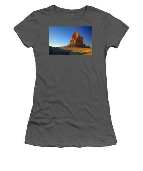 Shiprock Sunset Women's T-Shirt (Athletic Fit)