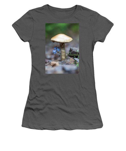 Shy Women's T-Shirt (Junior Cut) by Aaron Aldrich