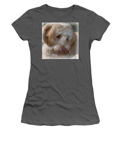 Shy Doodle Women's T-Shirt (Athletic Fit)