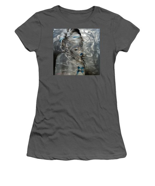 Silver Flight Women's T-Shirt (Athletic Fit)