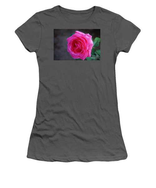 Simply A Rose Women's T-Shirt (Athletic Fit)