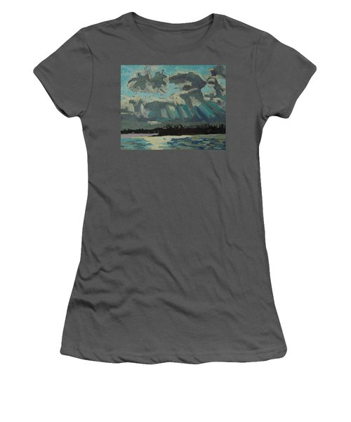 Singleton Cold Front Women's T-Shirt (Junior Cut) by Phil Chadwick