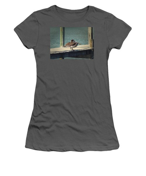 Sitting On The Dock Of The Bay Women's T-Shirt (Athletic Fit)