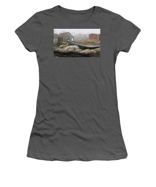 Women's T-Shirt (Junior Cut) featuring the photograph Skeleton Ashore by Jennifer Wheatley Wolf