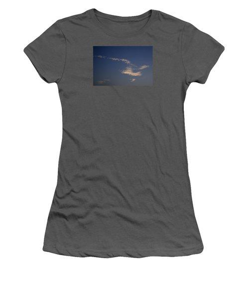 Skc 0353 Cloud In Flight Women's T-Shirt (Junior Cut) by Sunil Kapadia