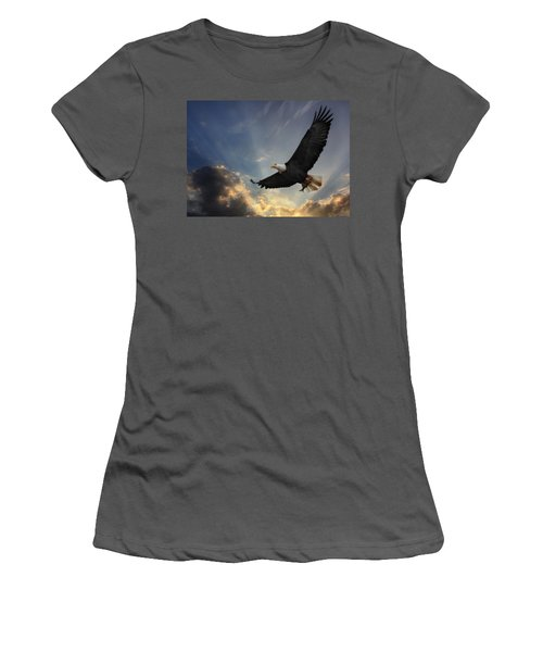 Soar To New Heights Women's T-Shirt (Junior Cut) by Lori Deiter
