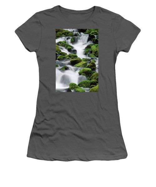 Sol Duc Stream Women's T-Shirt (Athletic Fit)
