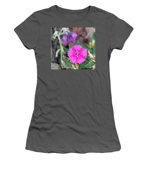 Women's T-Shirt (Junior Cut) featuring the photograph Solitary by Andrea Anderegg