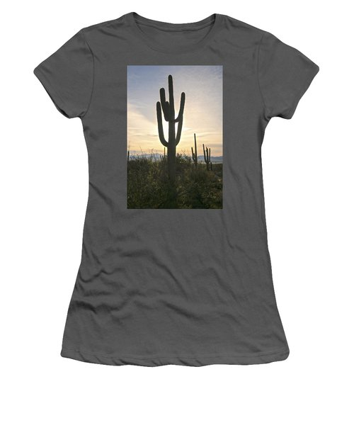 Sonoran Desert View Women's T-Shirt (Athletic Fit)
