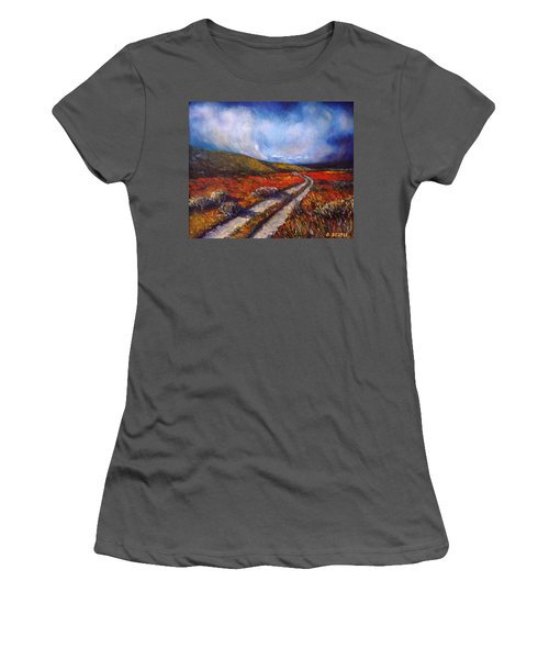 Southern California Road Women's T-Shirt (Athletic Fit)