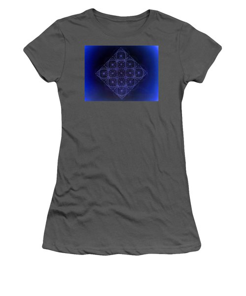 Space Time Sine Cosine And Tangent Waves Women's T-Shirt (Athletic Fit)