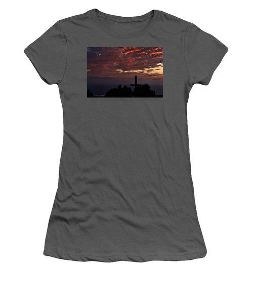 Spiritual Retreat Women's T-Shirt (Athletic Fit)