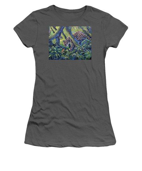 Spotted Women's T-Shirt (Junior Cut) by Gail Butler