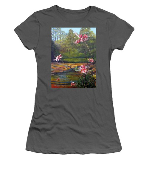 Spring Blooms On The Natchez Trace Women's T-Shirt (Junior Cut) by Jeanette Jarmon