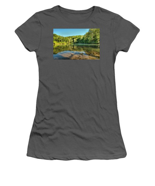 Spring Mill Lake Women's T-Shirt (Athletic Fit)