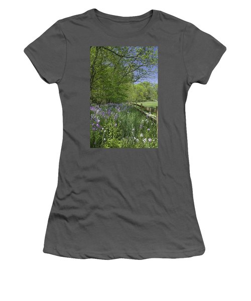 Spring Wildflowers Women's T-Shirt (Athletic Fit)