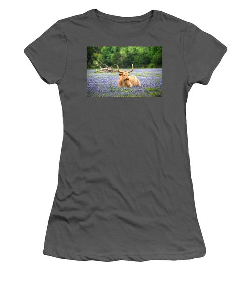Springtime In Texas Women's T-Shirt (Athletic Fit)