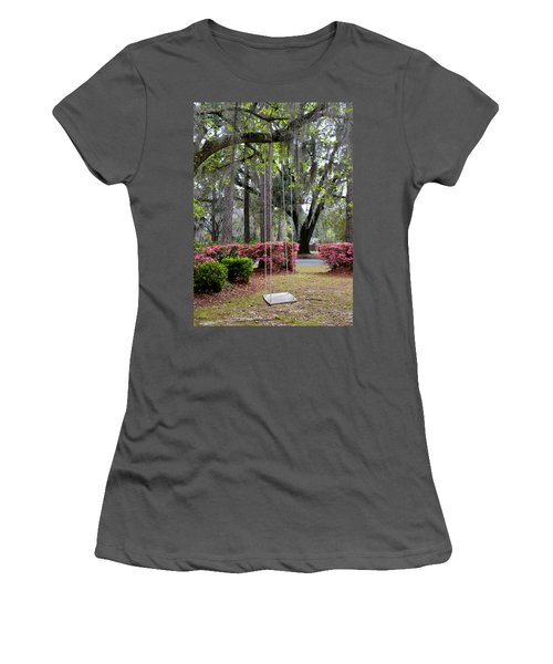 Springtime Swing Time Women's T-Shirt (Athletic Fit)
