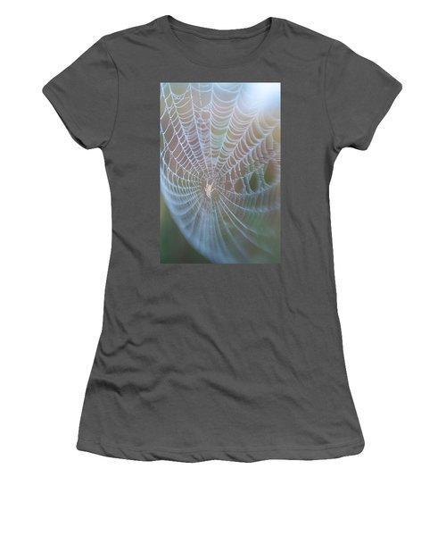 Spyder's Web Women's T-Shirt (Athletic Fit)