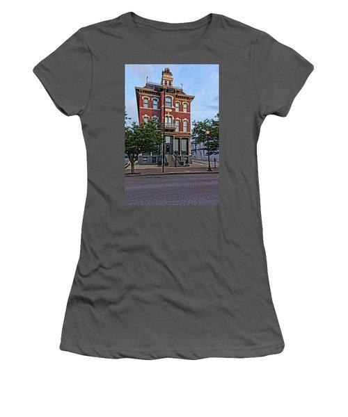 St. Charles Odd Fellows Hall Built In 1878 Dsc00810  Women's T-Shirt (Junior Cut) by Greg Kluempers