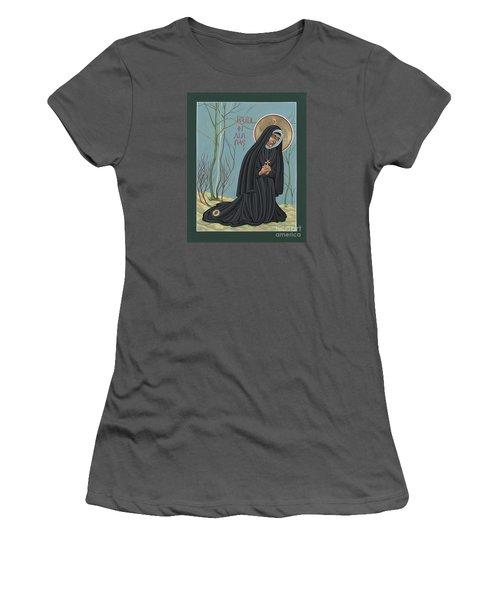 St. Philippine Duchesne 259 Women's T-Shirt (Junior Cut) by William Hart McNichols